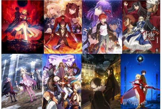 Fateシリーズの時系列、普通のアニメの時系列に比べてめっちゃややこしかった!