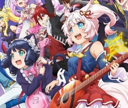 アニメ4期『Show By Rock!! Stars!!』のキービジュが判明!! 今度はプラズマジカがでてくるぞ!!!