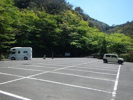 4月28日白谷雲水峡駐車場