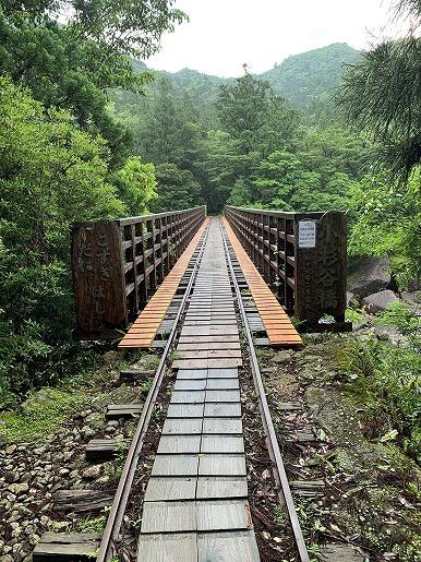 小杉谷橋(6月13日)