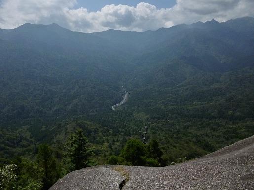 太鼓岩からの展望10月1日