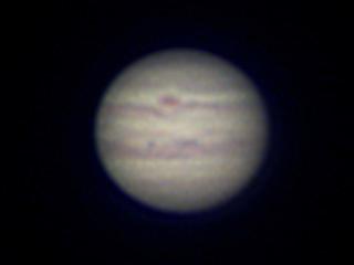 2020年8月23日 木星(ピクセル等倍)