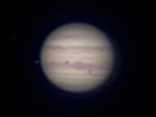 2020年9月5日 木星(ピクセル等倍)