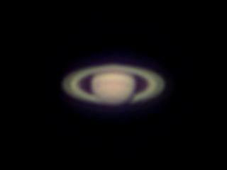 2020年8月29日 土星(ピクセル等倍)
