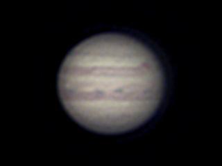 2020年8月29日 木星(ピクセル等倍)