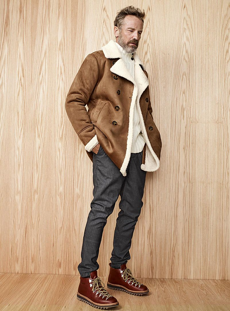 Mens Overcoats _ Trench, Dress Peacoats _ Simons Canada