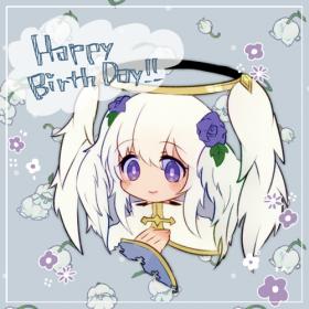 ちーちゃん作 お誕生日次女ちゃん。