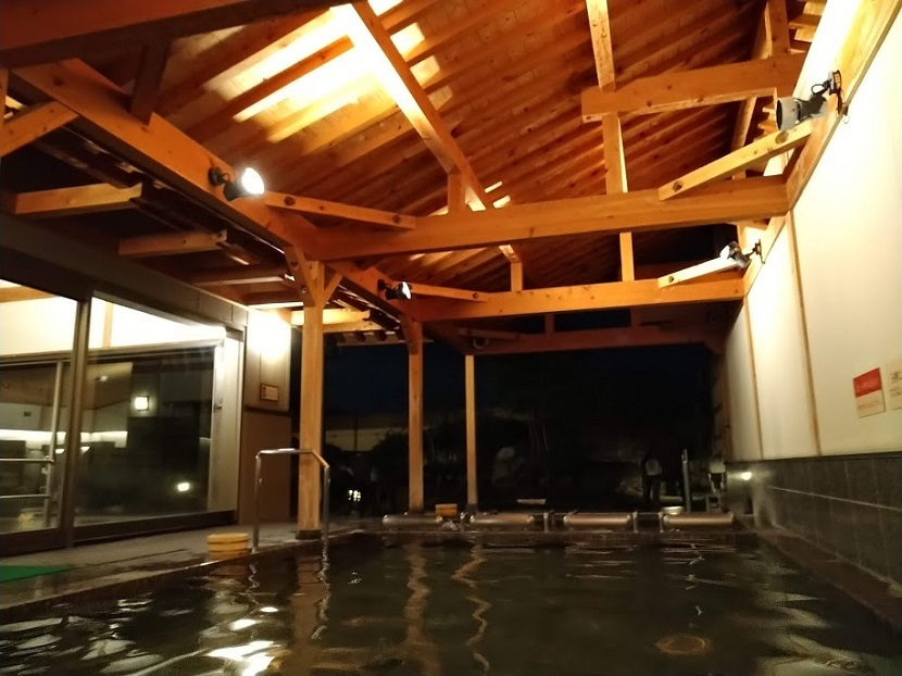 大浴場 露天風呂5 夜