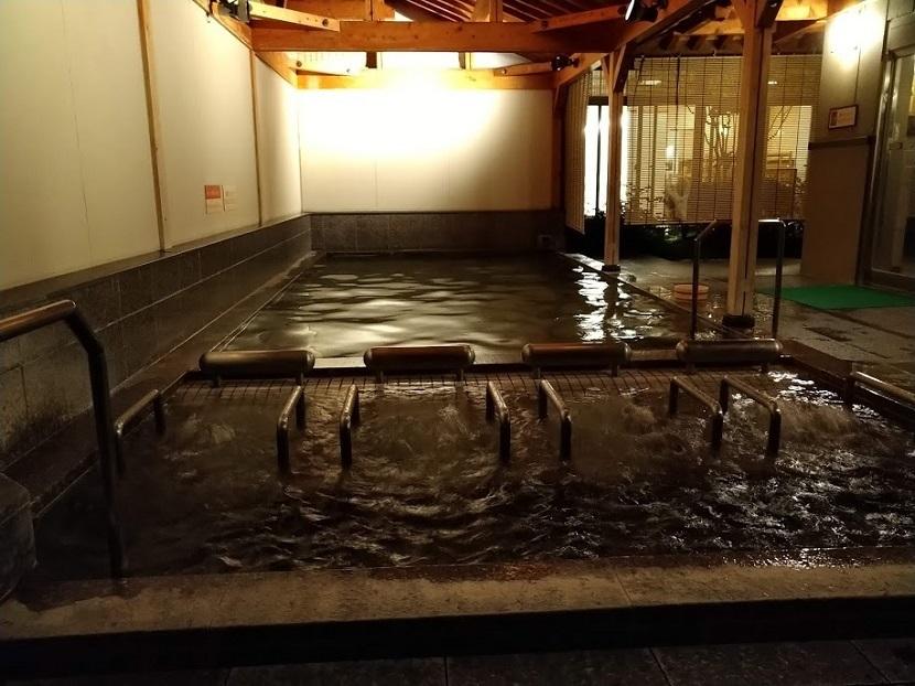 大浴場 露天風呂6 夜