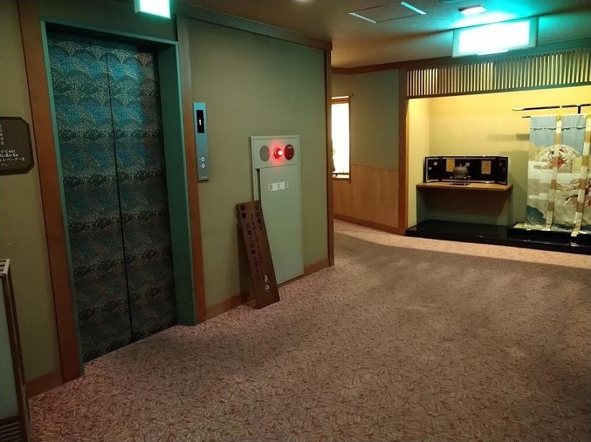 二の館エレベーター