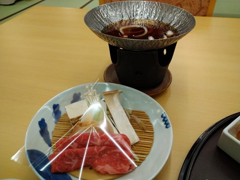 夕食 すき鍋