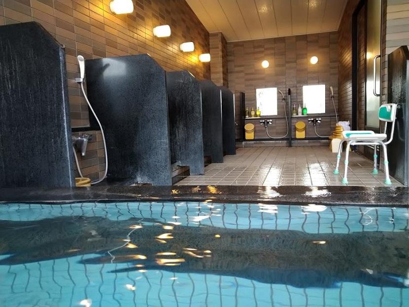 大浴場 内風呂3 洗い場