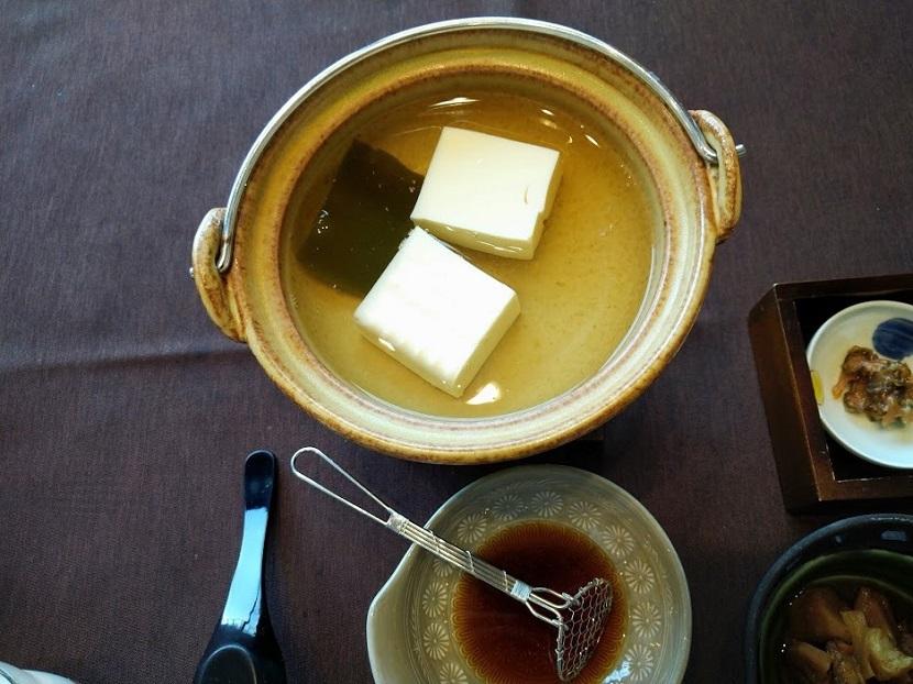 朝食 和定食4 湯豆腐