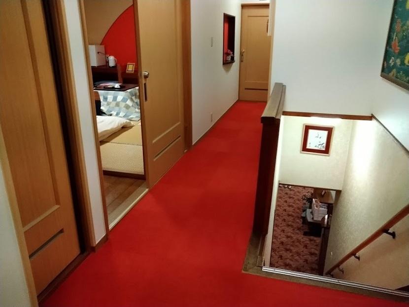 2階客室廊下