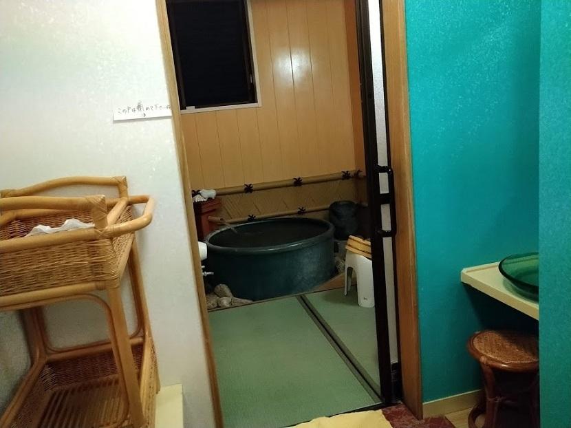 貸切風呂2_脱衣所