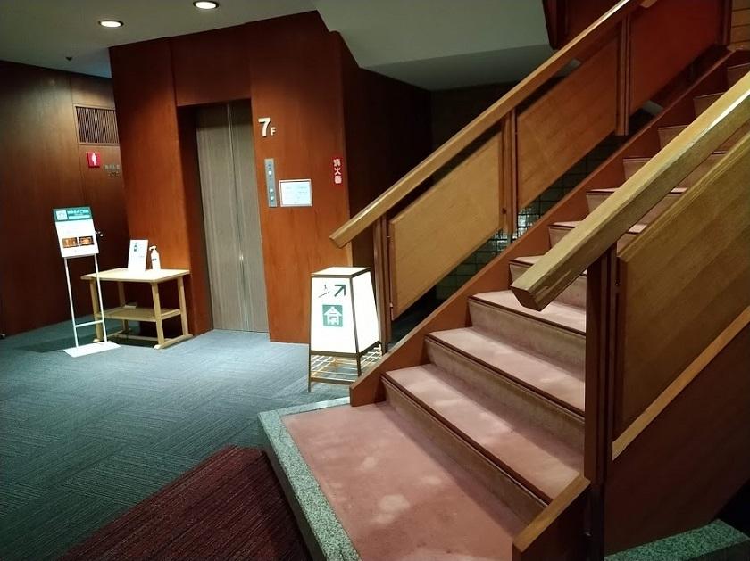 檜舞台入口