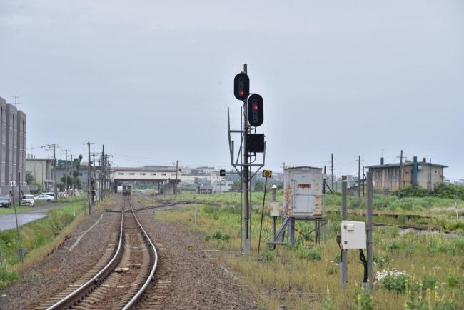 5留萌駅遠景