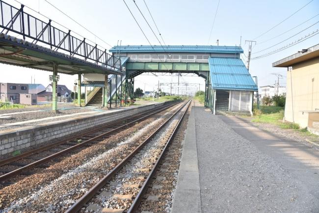 6江部乙駅跨線橋