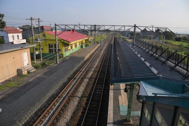 9江部乙駅跨線橋から