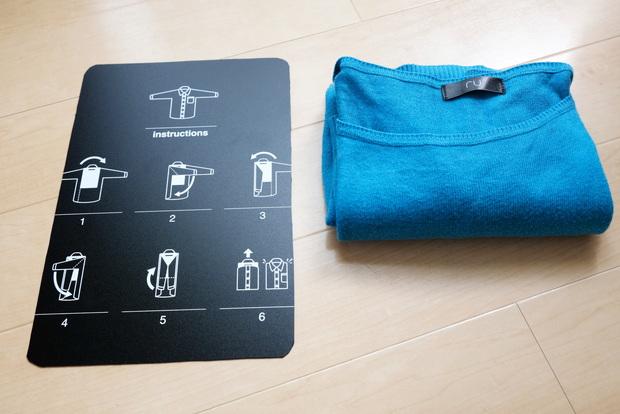 キャンドゥ・衣類折り畳み用プレート⑥