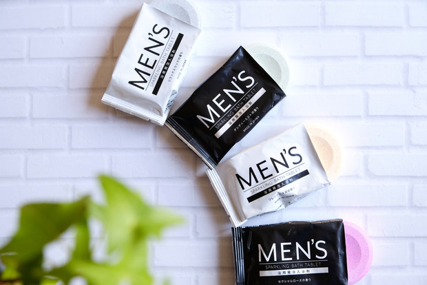 ダイソー・MEN'S 発泡入浴剤④
