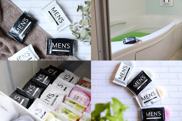 ダイソー・MEN'S 発泡入浴剤③