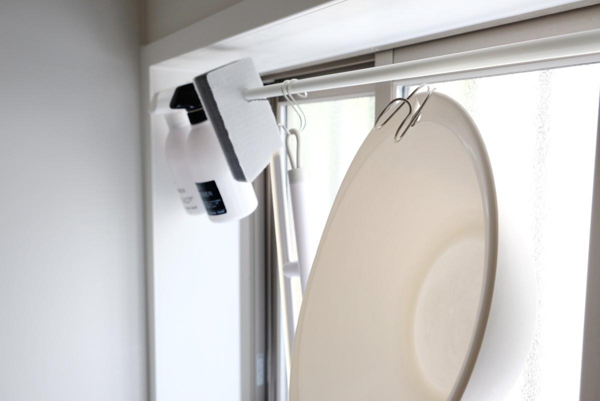 無印・ステンレス横ブレしにくいフック・大・浴室①