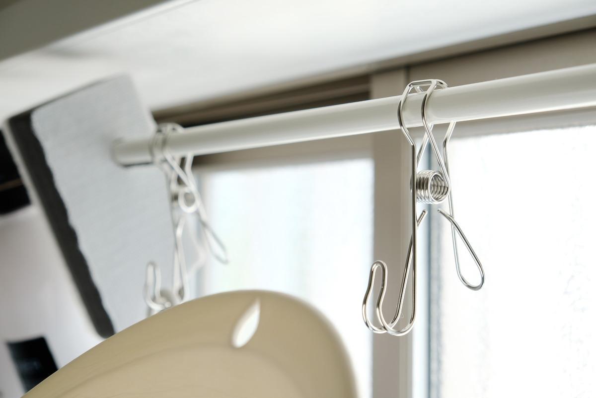 ニトリ・ステンレスフック付きピンチ・浴室④