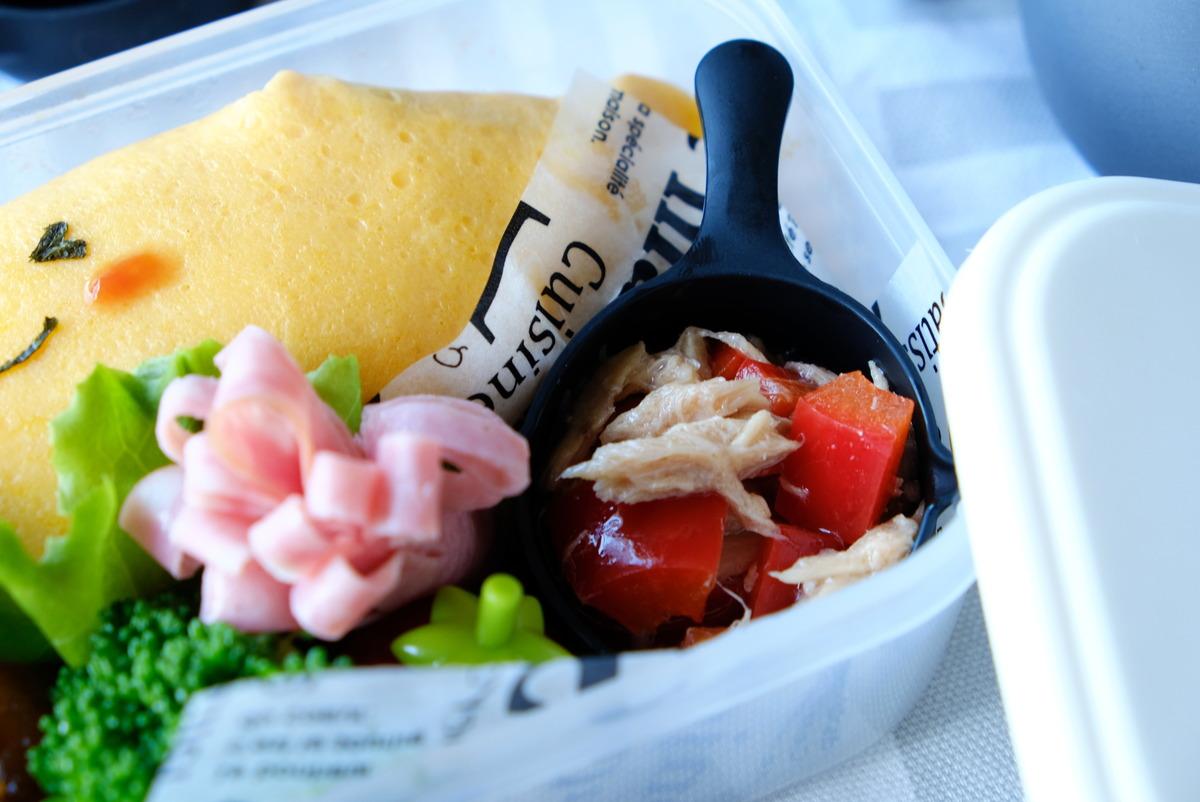 キャンドゥ・シリコーンスキレットカップ・オムライス・お弁当①