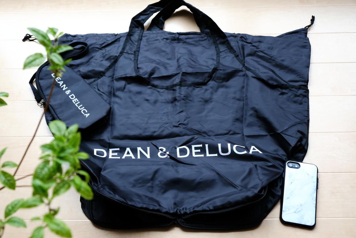 GLOW 2020年8月号・DEAN & DELUCAのレジかご買物バッグ+保冷ボトルケース③