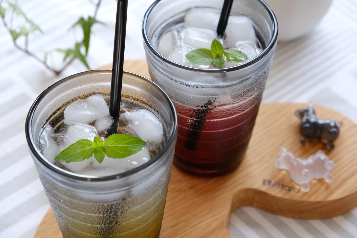 イッタラ・アアルト・タンブラー330ml・イオン・トップバリュ・飲む酢飲料②