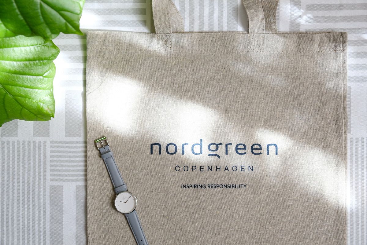 Nordgreen(ノードグリーン)・腕時計・Native・エコバッグ・トートバッグ①