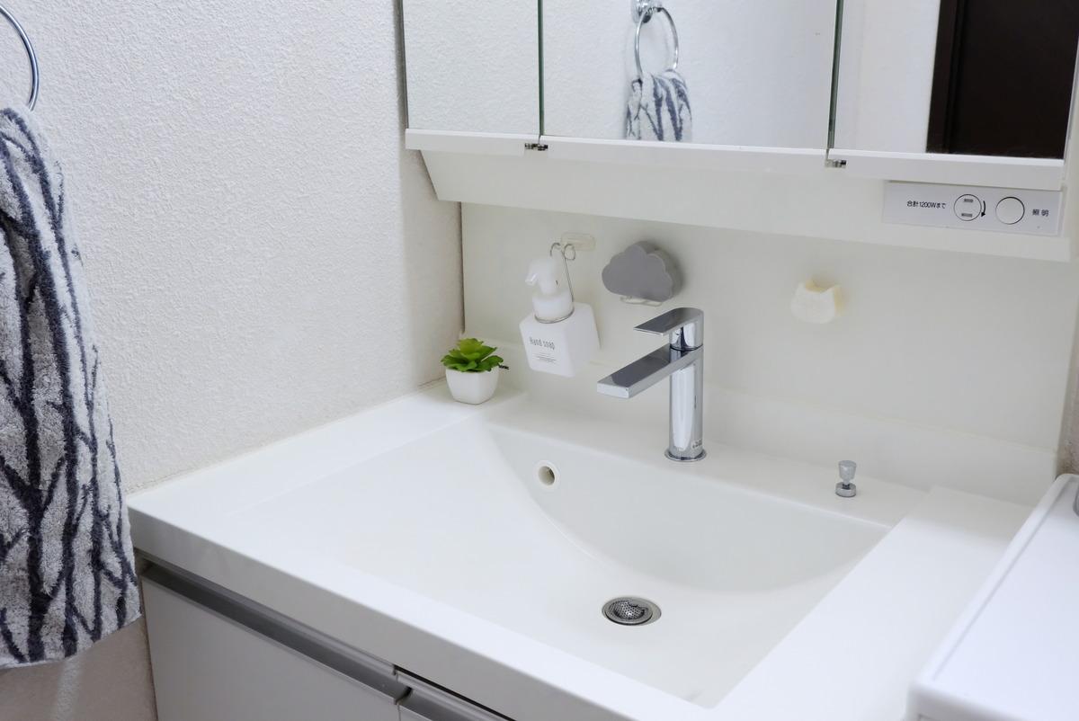 キャンドゥ・PVA 吸水スポンジ くも・洗面所・洗面台①