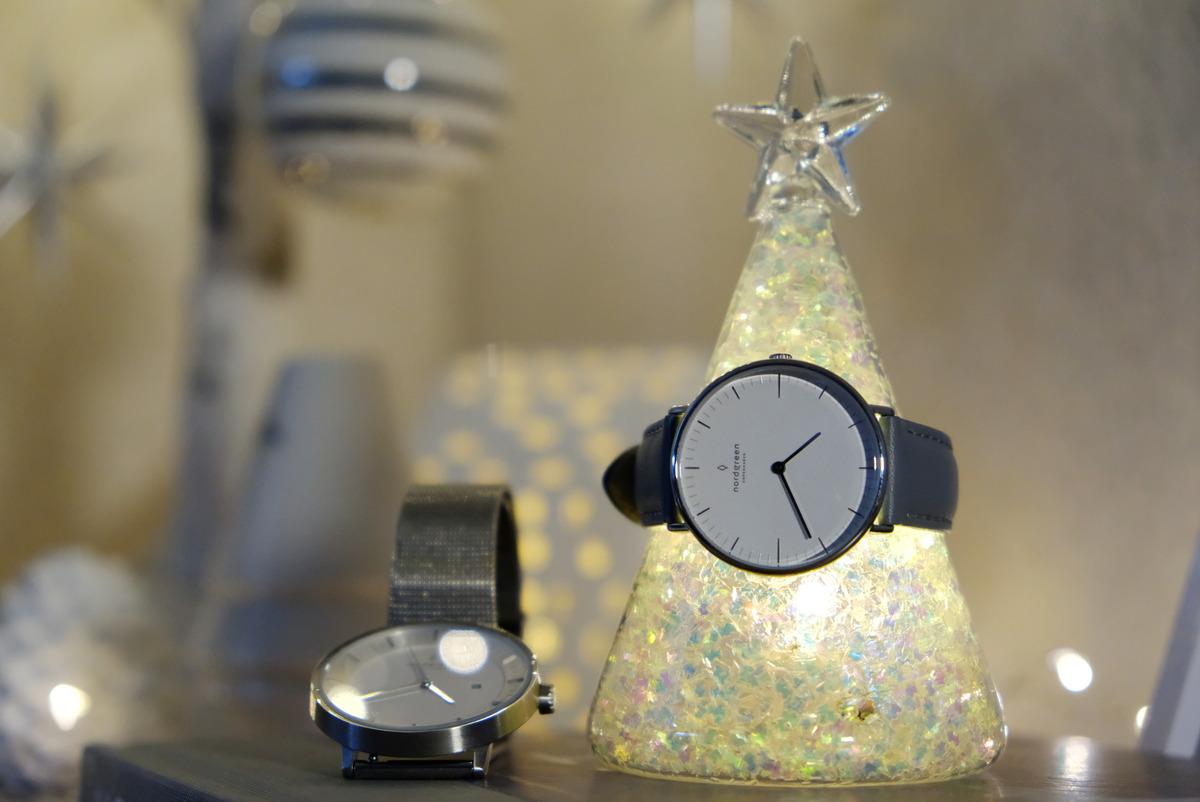 ダイソー・LEDガラス(飾りツリー)・Nordgreen(ノードグリーン)・Philosopher・Native・腕時計①