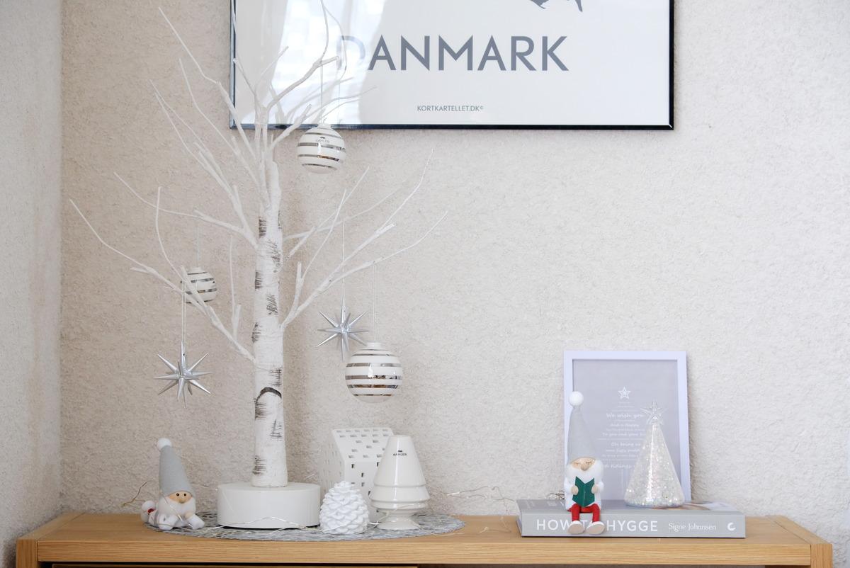 ダイソー・LEDガラス(飾りツリー)・2020クリスマスインテリア・ダイニング・無印②