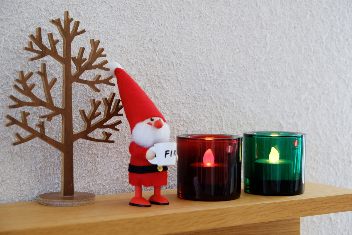 IKEA・GODAFTON グダフトン LEDティーライト・kivi・ノルディカニッセ・リビング・テレビ上・無印・壁につけられる家具①