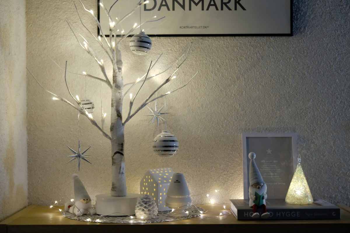 ニトリ・シラカバツリー・IKEA・GODAFTON グダフトン LEDティーライト・ダイニング・無印・スタッキングシェルフ上②