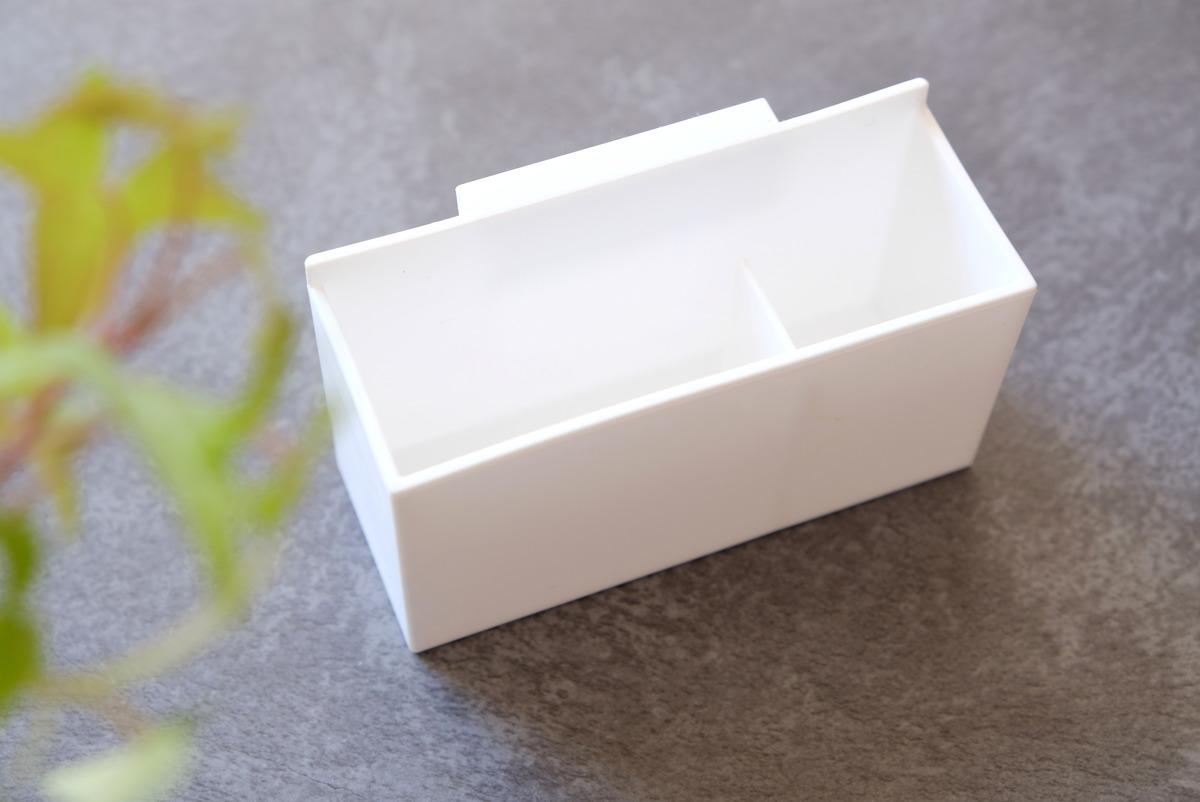 セリア・ファイルボックスポケット 浅型②