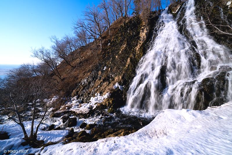 絶景探しの旅 - 絶景写真No.1297 知床八景 オシンコシンの滝 (北海道 斜里町 ウトロ西)