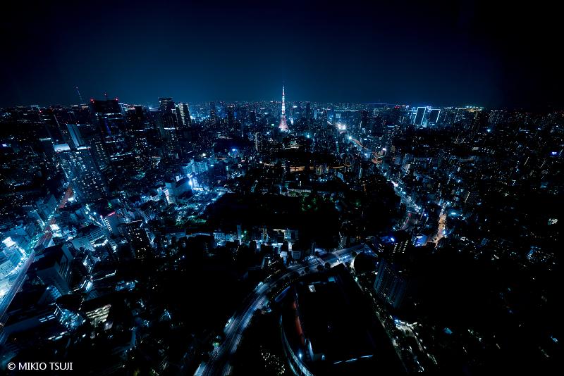 絶景探しの旅 - 絶景写真 No.1472 近未来都市 (東京都 港区)