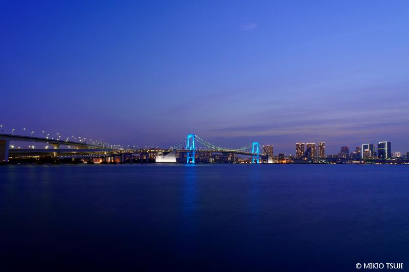 絶景探しの旅 - 絶景写真No.1486 日暮れの東京ベイエリア (東京都 江東区)