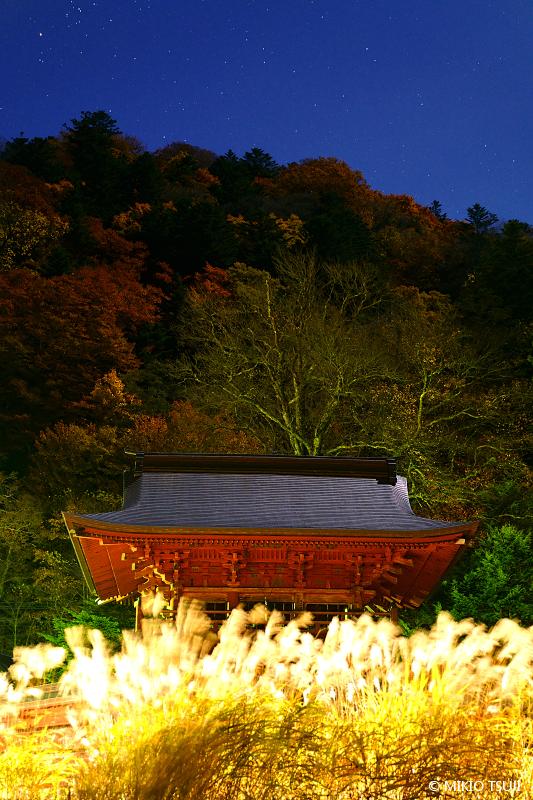 絶景探しの旅 - 絶景写真 No.1493 秋に燃ゆる中禅寺 (栃木県 日光市)